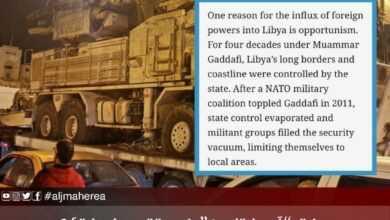"""Photo of صحيفة """"آسيا تايمز"""" في تقرير لها تؤكد : ليبيا أصبحت ساحة حرب بالوكالة في الشرق الأوسط"""