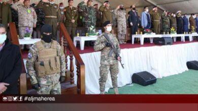 "Photo of تخريج الدفعة الخامسة من مليشيا ""مكافحة الإرهاب"" بحضور معيتيق"