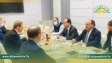 Photo of في مجالات الكهرباء والطاقة والصحة والبنية الأساسية: الإتفاق على إعادة تفعيل اتفاقياتكانت قد ابرمتبين ليبيا وروسيا في 2008