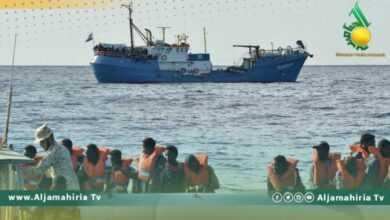 Photo of انقاذ 147 مهاجر غير شرعي في البحر المتوسط قبالة سواحل ليبيا