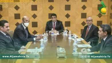 Photo of المنفي يبحث مع السايح سبل دعم المفوضية للإيفاء بالتزاماتها في الانتخابات