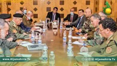 Photo of الدبيبة والمنفي يناقشان توحيد الجيش مع لجنة 5+5