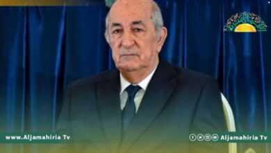 Photo of تبون يؤكد رفض الجزائر التدخلات الأجنبية في ليبيا