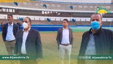Photo of الشلماني يتفقد ملعب طرابلس الدولي قبل وصول وفد الكاف