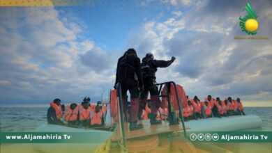 Photo of إنقاذ 45 مهاجر غير شرعي بينهم 5 نساء و15 قاصر في المياه الإقليمية الليبية