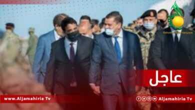 Photo of عاجل// وصول رئيس حكومة الوحدة الوطنية إلى مطار القرضابية الدولي لتقديم التشكيل الجديد خلال جلسة مجلس النواب لمنح الثقة