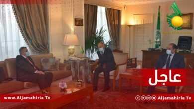 Photo of عاجل// أمين عام الجامعة العربية يطالب المبعوث الأممي إلى ليبيا بمعالجة التهديد الذي تمثله الميليشيات على العملية الانتقالية الجارية في البلاد