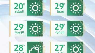 Photo of تقلبات جوية على غرب ليبيا ورياح نشطة مثيرة للأتربة مع ارتفاع درجات الحرارة