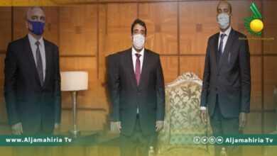 Photo of المنفي يلتقي جامشيد بولتايف رئيس البعثة الدبلوماسية الروسية في طرابلس ويبحثات التعاون المشترك