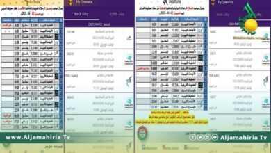 Photo of إليكم مواعيد رحلات الطيران من وإلى مطاري معيتيقة وبنينا الجمعة