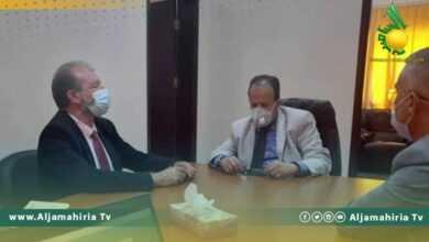 Photo of بحث سبل التعاون بين وزارة الصحة بحكومة الوحدة المؤقتة ومشروع الأمم المتحدة الإنمائي في ليبيا