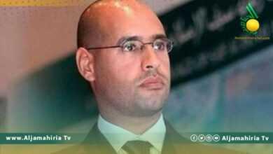 Photo of تقرير مغربي يحتفي بعودة الدكتور سيف الإسلام معمر القذافي إلى الساحة السياسية ويؤكد انه رجل ليبيا المقبل