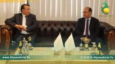 """Photo of وزير الدولة لشؤون المُهجرين وحقوق الإنسان يقوم بزيارة لـ""""بنغازي"""""""
