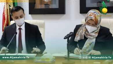 Photo of وزارة العدل: مراسم استلام في بنغازي وعبد الرحمن تقول: نفتح صفحة جديدة من العمل الوطني