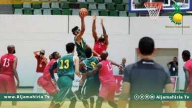Photo of غدًا…مواجهة بين الأهلي طرابلس والاتحاد في دوري كرة السلة