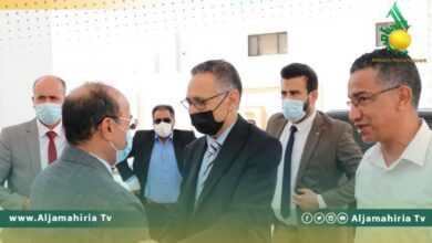 Photo of الحويج يلتقي رئيس المجلس التسييري لبلدية بنغازي ويبحث تفعيل المشروعات المتوقفة