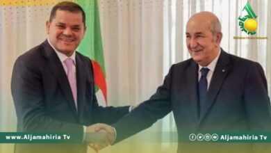 Photo of الدبيبة خلال لقائه بالرئيس الجزائري يصف الجزائر بالأخ الأكبر ويعتبرها مؤهلة لقيادة المصالحة في ليبيا