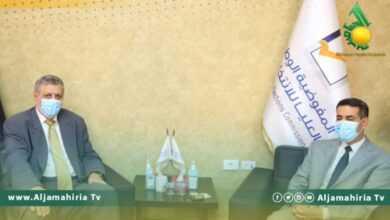 Photo of السايح يستقبل كوبيش لبحث فحوى قرار مجلس الأمن رقم 2570 لسنة 2021،المتعلق بانتخابات ديسمبر