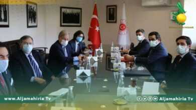 Photo of نورلاند يلتقي المدير العام للشؤون الخارجية التركية لبحث المستجدات في ليبيا