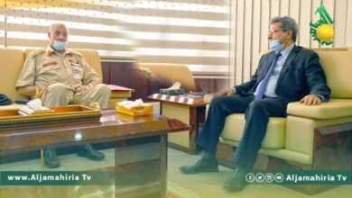 Photo of عون يؤكد حرص الوزارة على حل مشاكل جهاز المنشآت النفطية
