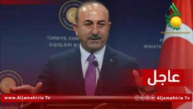 Photo of عاجل| وزير الخارجية التركي جاويش أوغلو: متفقون على انسحاب المقاتلين الأجانب من ليبيا، إلا أن إنهاء الدعم المقدَّم بناءً على اتفاقية ثنائية لن يكون في صالح ليبيا