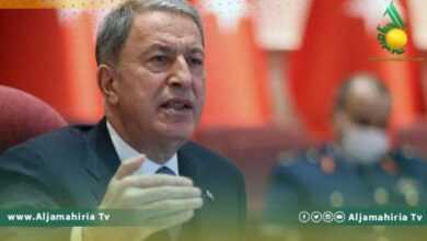 "Photo of ""أكار"" يكشف أطماع أنقرة: ليبيا وطن من أجل الأتراك"