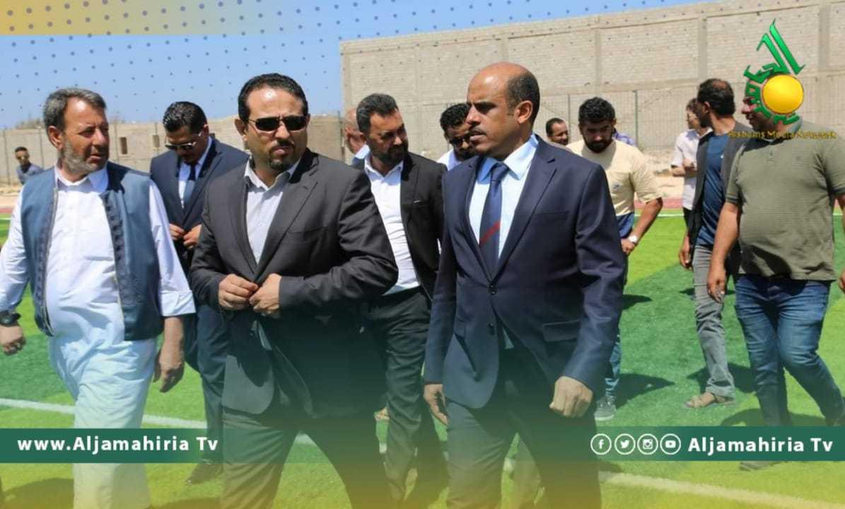 وزير الرياضة في طبرق