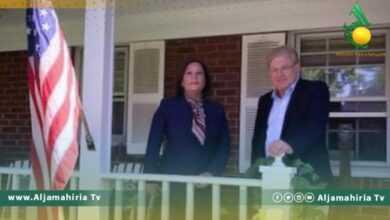 Photo of السفير الأمريكي يلتقي سفيرة ليبيا في واشنطن