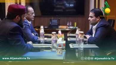 Photo of وكيل وزارة النفط يلتقي أعضاء بمجلس النواب الليبي