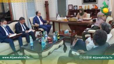 Photo of الكيلاني تستقبل السفير التونسي بليبيا ومناقشة تفعيل الاتفاقات المشتركة
