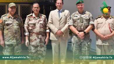 Photo of غرفة عمليات سرت تناقش الأوضاع السياسية مع السفارة البريطانية