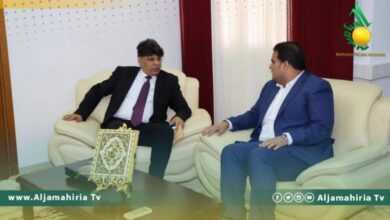 Photo of وكيل وزارة النفط يستقبل النائب العام لمناقشة بعض القضايا الخاصة بالقطاع