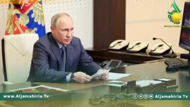Photo of الرئيس الروسي سيطرح ملف ليبيا مع نظيره الأمريكي