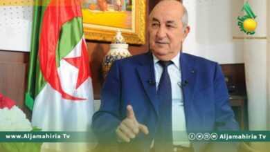 Photo of تبون: الجزائر كانت على استعداد للتدخل لمنع سقوط طرابلس
