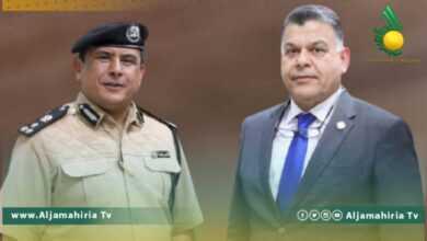 Photo of وزير الداخلية يبحث مع مدير أمن طبرق الأوضاع الأمنية داخل المدينة