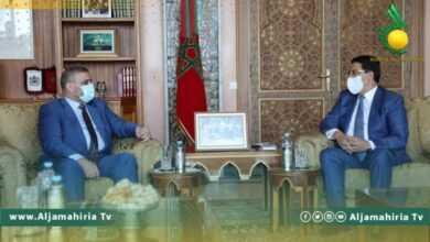 Photo of بوريطة يبحث مع المشري مستجدات الحوار السياسي بمساراته المختلفة
