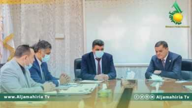 "Photo of الدبيبة وشكشك يتابعان خطة الكهرباء مع ""العبدلي"""