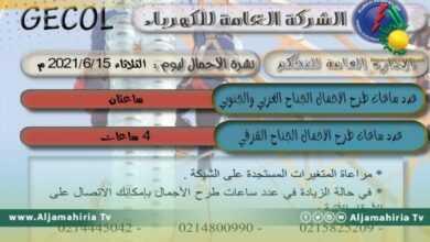 """Photo of """"العامة للكهرباء"""": طرح الأحمال ساعتان على الجناح الغربي والجنوبي..و4 ساعات على الجناح الشرقي"""
