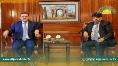 Photo of النائب العام يلتقي الدبيبة
