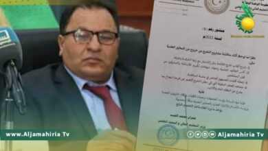 Photo of القيب يشدد على الالتزام الصارم بالمعايير العلمية أثناء مناقشة مشاريع التخرج