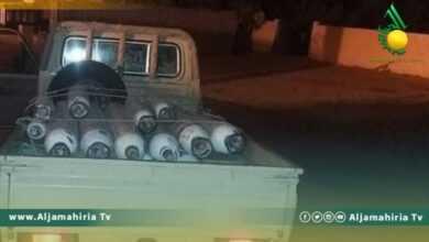 Photo of بالصور// وصول كميات من اسطوانات الأكسجين المهربة من ليبيا إلى ولاية بن قردان الحدودية بتونس