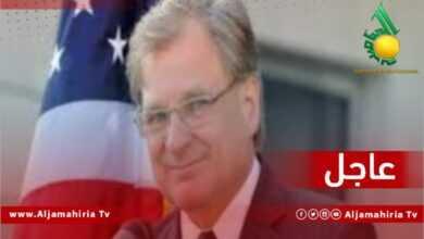 السفير الامريكي عاجل
