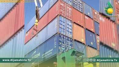 Photo of ميناء بنغازي يستقبل سفينتين محملتين بسلع وبضائع مختلفة