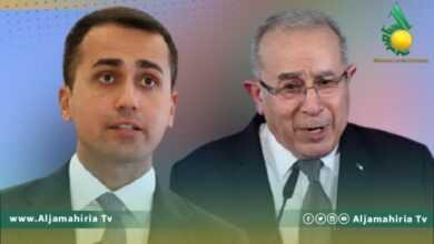 Photo of العمامرة ودي مايو يبحثان تطورات الأوضاع في ليبيا