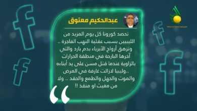 Photo of كاتب صحفي ينتقد الانفلات الأمني والفساد في ليبيا
