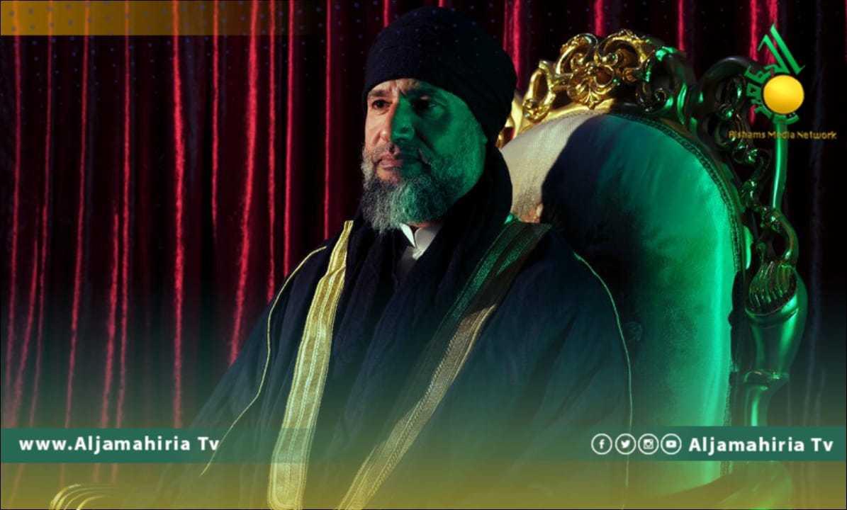 سيف الاسلام القذافي