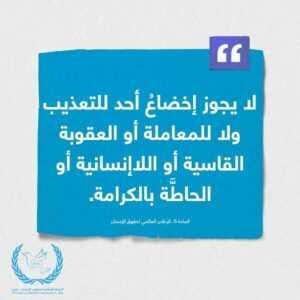 حقوق الإنسان الليبية