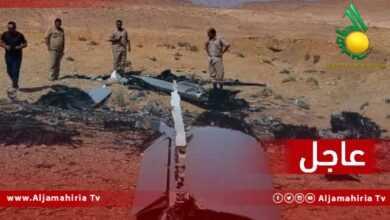 Photo of عاجل| العثور على حطام طائرة بدون طيار جنوب مدينة بني وليد