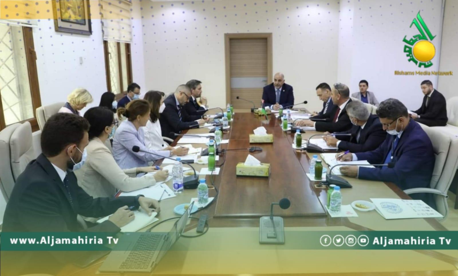 اجتماع تقابلي بين وزراء الدبيبة والاتحاد الاوروبي
