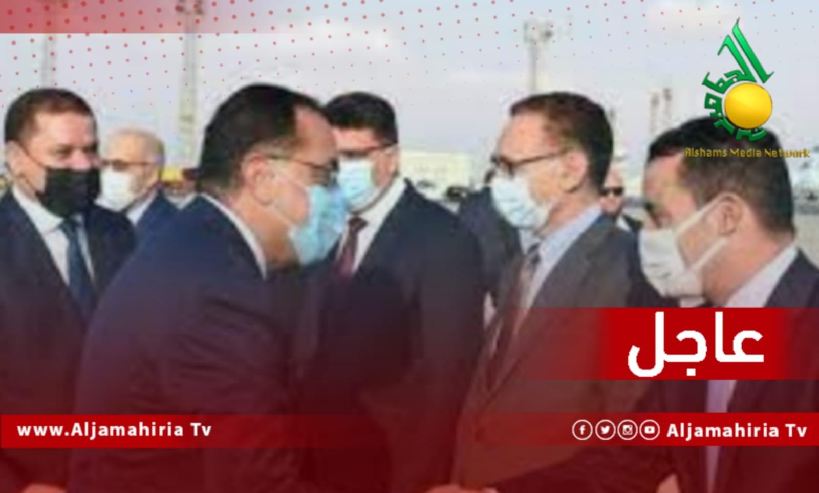 عاجل مصطفى مدبولي والدبيبة
